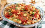 Картофель с томатами в собственном соку в духовке – постный рецепт