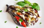 Баклажаны «жар-птица» в духовке веером, рецепт с фото