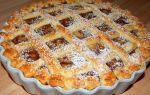 Льежский пирог с яблоками. открытый яблочный пирог