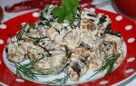 Тушеные баклажаны в сметане как грибы, рецепт с фото