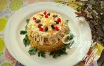 Пасхальный салат со свининой рецепт с фото