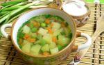 Простой овощной суп рецепт с фото