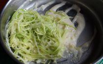 Паста с кабачками в сливочном соусе (спагетти) – рецепт с фото