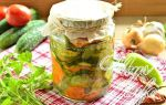Салат из огурцов и лука с маслом и морковью на зиму рецепт с фото