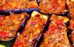 Лодочки из баклажанов в духовке рецепт с фото