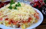 Салат с крабовыми палочками и сыром, рецепты с фото