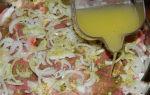 Шашлык с луком и лимоном, лимонный маринад – рецепт с фото