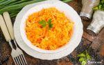 Салат из моркови с сыром и чесноком, рецепт с фото