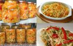 Салат охотничий на зиму с капустой и огурцами рецепт с фото без стерилизации