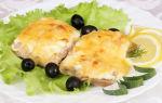 Филе горбуши в духовке под сырной корочкой, рецепт с фото
