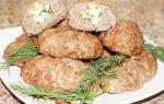 Мясные зразы с яйцом в духовке рецепт с фото