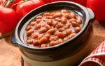 Фасоль в томатном соусе, рецепт с фото