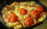 Кефаль с картошкой в духовке, рецепт с фото
