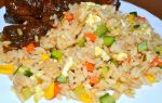 Рис с овощами по-китайски рецепт с фото