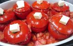 Фаршированные помидоры в духовке рецепт с фото