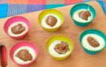 Кексы со сгущенкой в силиконовых формочках рецепт с фото