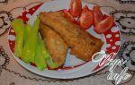 Скумбрия жареная на сковороде в кляре с кунжутом рецепт с фото