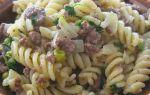 Макароны по-флотски с грибами и фаршем, рецепт с фото