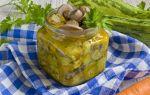 Маринованные кабачки как грибы на зиму рецепт с фото пошагово