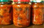 Соте из баклажанов на зиму с томатной пастой рецепт с фото