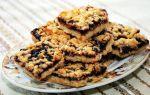 Тертый песочный пирог с вареньем рецепт с фото