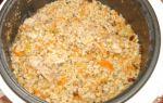 Перловка с мясом в мультиварке редмонд – рецепт с фото