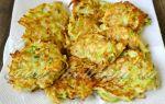 Драники из картофеля и кабачков рецепт с фото
