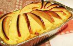 Творожная запеканка с яблоками в духовке рецепт с фото