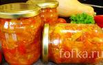 Салат из тыквы с овощами на зиму, рецепт с фото