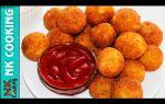 Картофельные шарики с сыром рецепт с фото