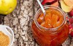 Варенье из айвы с лимоном, рецепт с фото