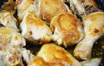 Жареная курица на сковороде кусочками с чесноком, рецепт с фото