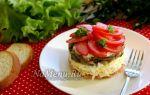 Салат «чикаго» с копченой грудкой пошаговый рецепт с фото