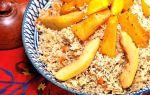 Плов с тыквой и мясом: рецепт с фото пошагово