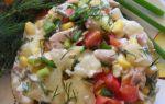 Салат «сказка» рецепт с фото пошагово