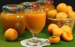 Сок из абрикосов с мякотью на зиму, рецепт с фото