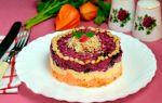 Салат «любовница» с изюмом и черносливом рецепт с фото