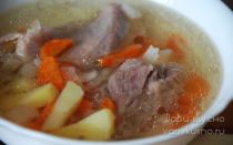 Суп из индейки с картошкой, рецепт с фото