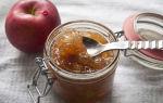 Яблочный джем с корицей на зиму, рецепт с фльл
