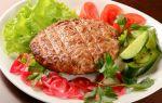 Рубленый бифштекс из свинины, рецепт с фото