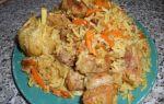 Плов из свинины на плите в казане, кастрюле – 2 рецепта с фото