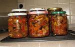 Овощное рагу на зиму рецепты с фото