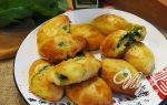 Пирожки с яйцом и шпинатом рецепт приготовления