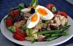 Салат нисуаз с тунцом рецепт с фото