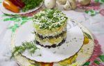 Салат с курицей, черносливом и сыром рецепт с фото