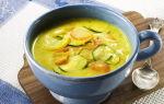 Диетический овощной суп, рецепт с фото
