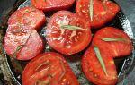 Помидоры запеченные в духовке со сливами и розмарином рецепт с фото