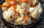 Цветная капуста по-корейски на зиму рецепт с фото