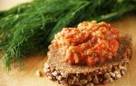 Икра заморская баклажанная, рецепт с фото