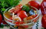Салат десятка из баклажан на зиму рецепт с фото